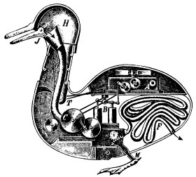 Duck of Vaucanson 1738