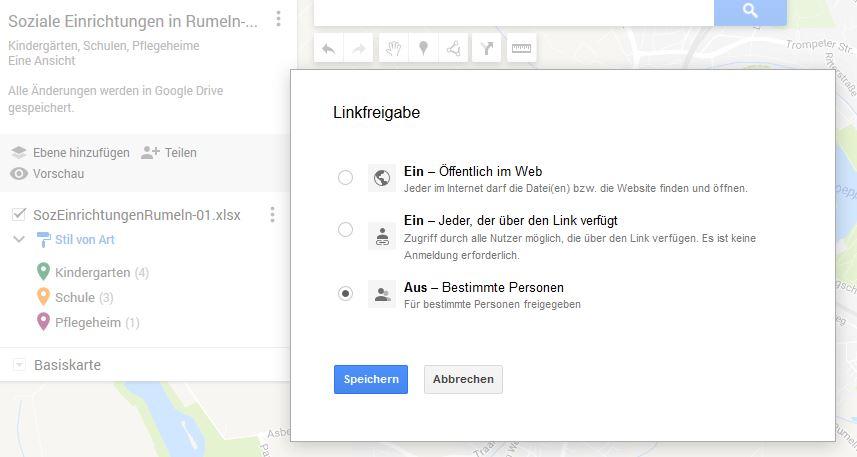 GoogleMapsLinkfreigabe