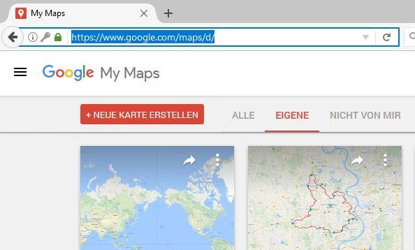 GoogleMapsNeueKarte