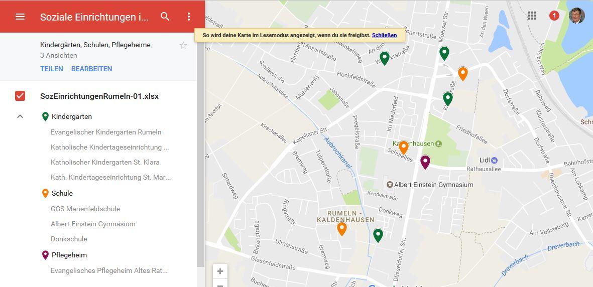 GoogleMapsVorschau