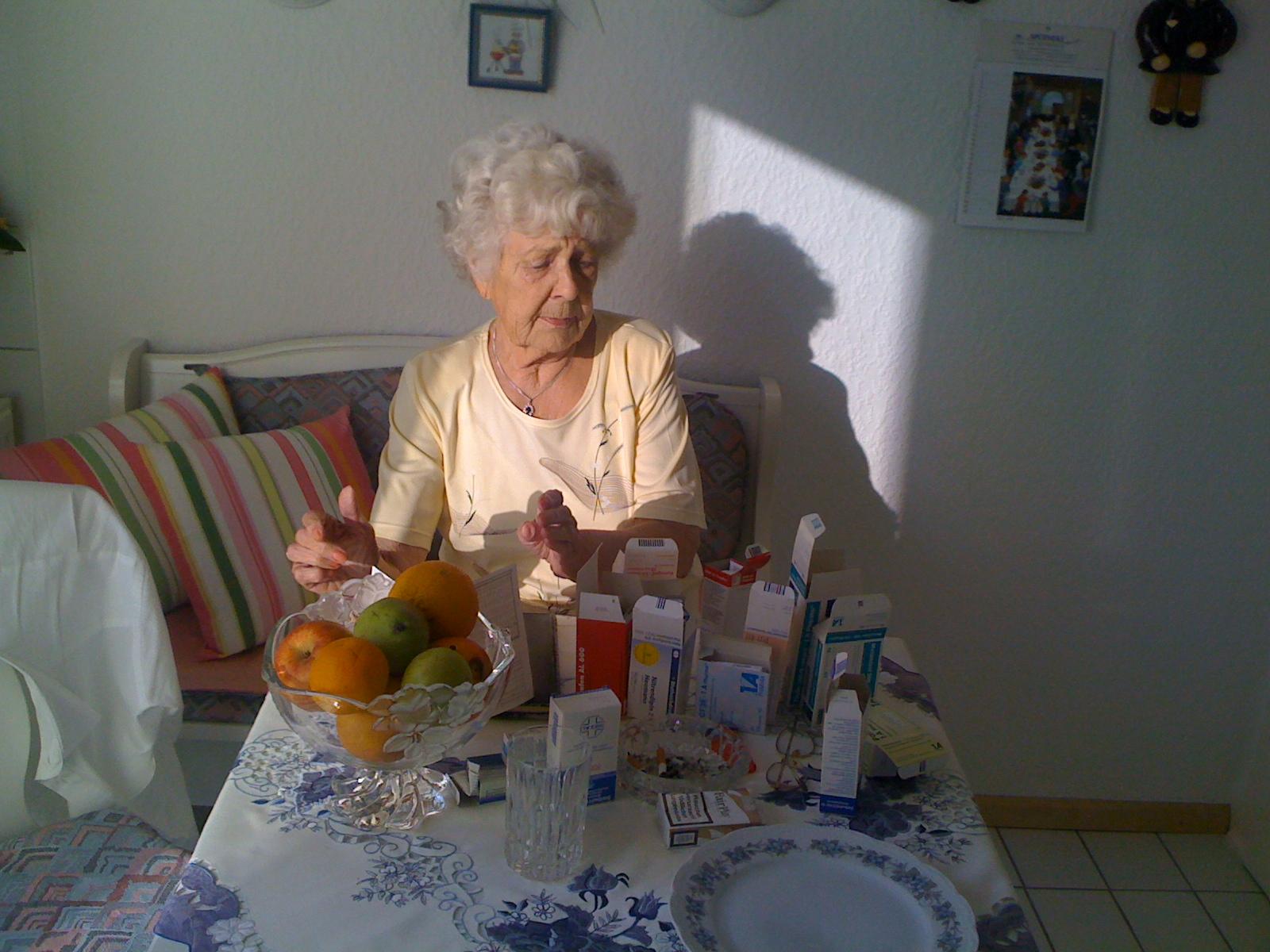 Medikamentenvielfalt bei über 80-jährigen